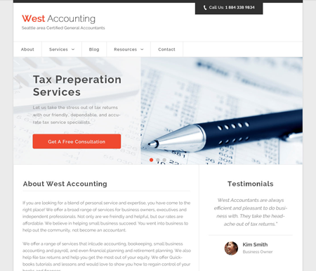 Accountancy Theme Thumbnail
