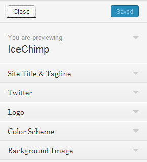 IceChimp Customizer