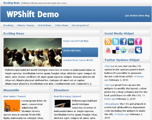 ShiftNews Screenshot