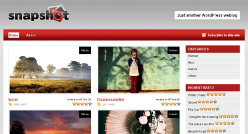 Snapshot WordPress Theme