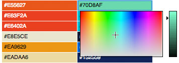 Theme Tweaker Color Picker