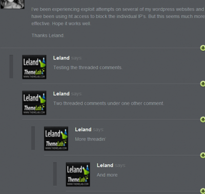 Theme Lab Threaded Comments