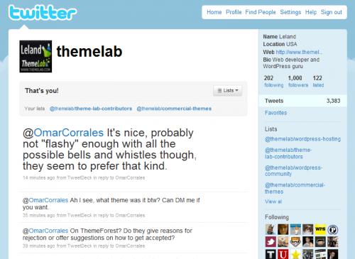 Theme Lab Twitter